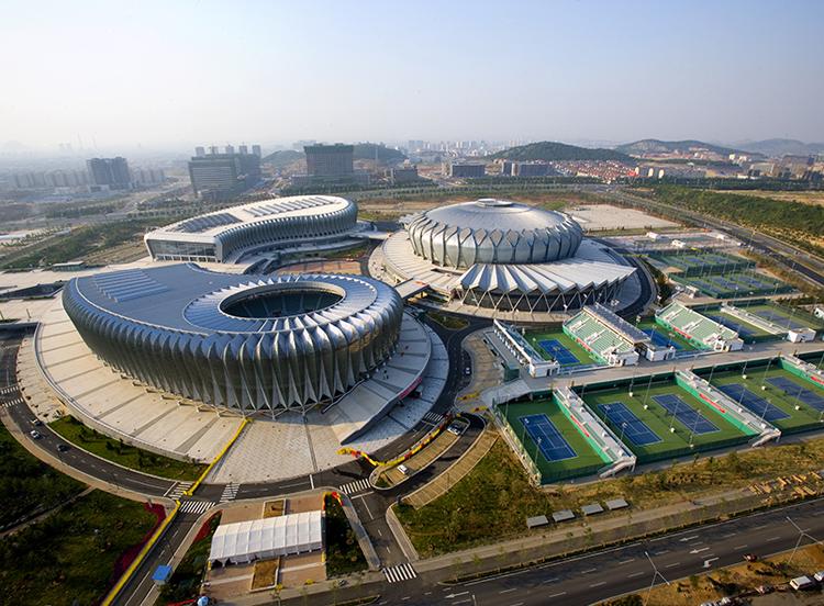 济南奥林匹克体育中心网球馆(鲁班奖)