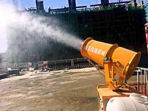 开拓思维 有力执行--第四工程项目公司积极推进扬尘治理